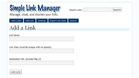 SLM Add Link